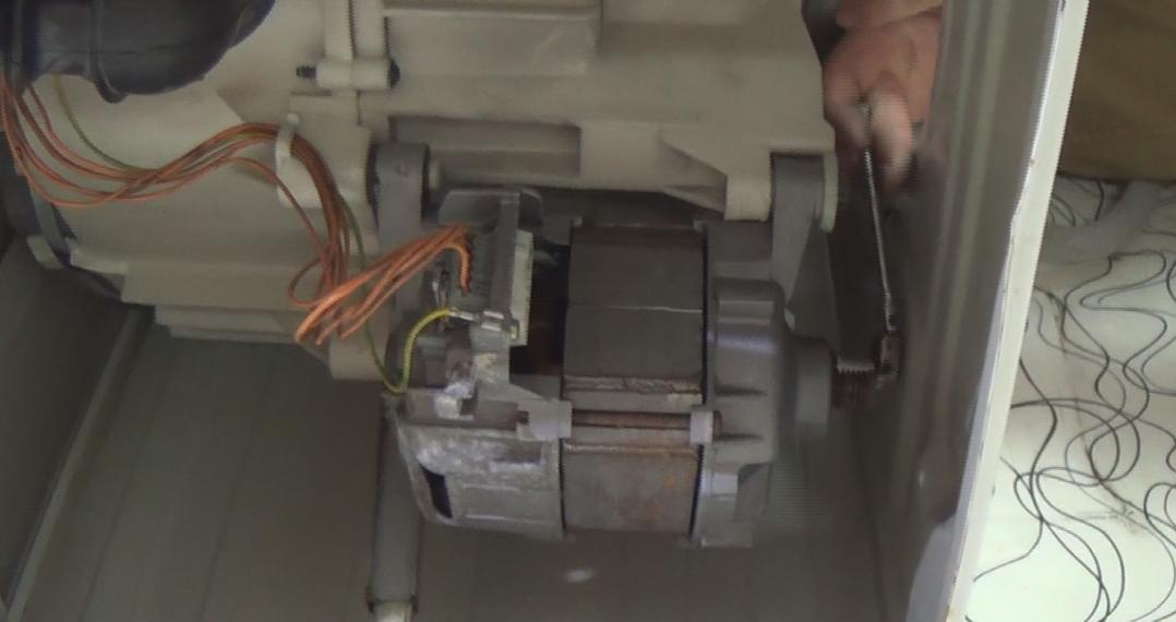 repair washing machine motor