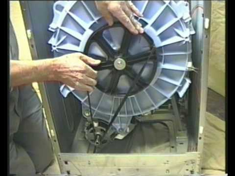 How To Replace The Belt On A Washing Machine