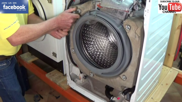 How To Replace Washer Dryer Door Seal Large 8kg 9kg Models