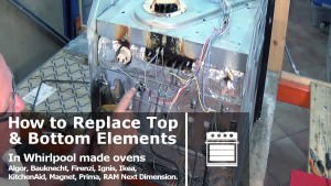 How To Replace Top Grill Amp Bottom Base Oven Element