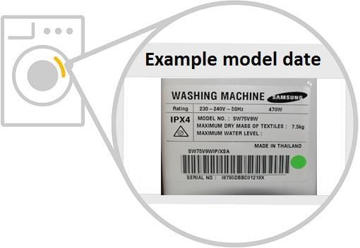 samsung washing machine fault codes