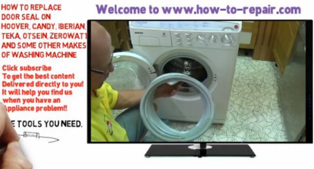 washing machine seal | How to Repair