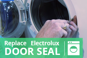 How To Replace An Electrolux Washing Machine Door Seal