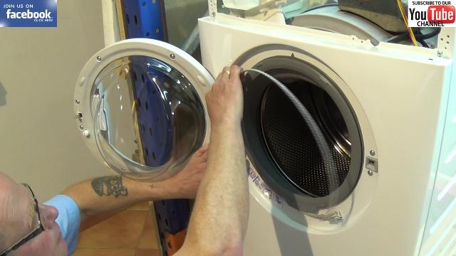 How To Replace An Aeg Washing Machine Door Seal