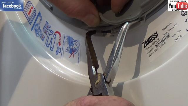 How To Replace A Zanussi Washing Machine Door Seal