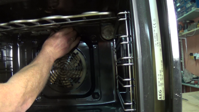 How To Replace A Grill Element On An Aeg Or Electrolux Cooker Or Oven
