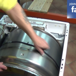 Aligning-the-belt-on-Whirlpool-Bauknecht-Bosch-Ignis-Maytag-Proline-tumble-dryer