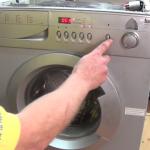 Testing-Indesit-Haier-Teka-Samsung-washing-machine-after-fitting-brushes