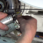 Tumble-dryer-is-not-turning-How-to-find-the-fault-and-replace-motor-capacitor