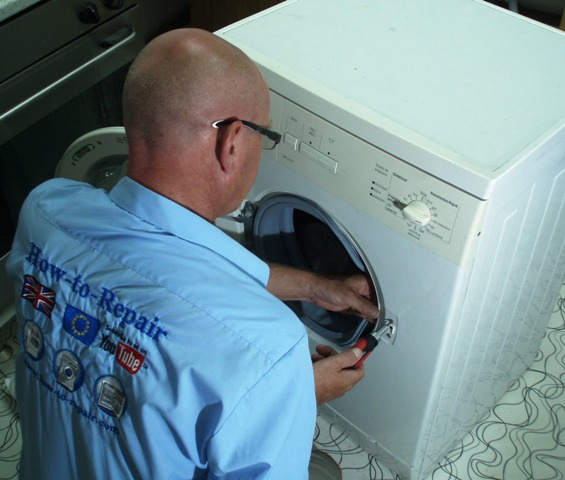 How To Replace A Washing Machine Door Lock On A Bosch Neff