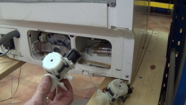 replacing washing machine shut valve