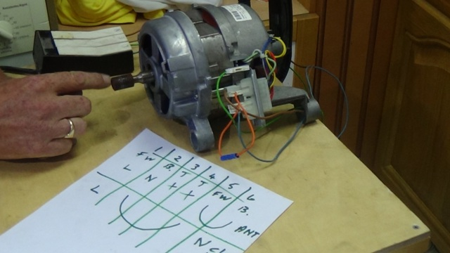 How to test a washing machine motor for How to check ac motor