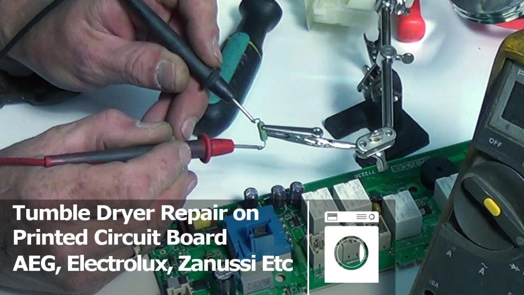 Printed Circuit Board Repair On Tumble Dryers Aeg Electrolux Zanussi Etc X on Simple Electrical Wiring Diagrams