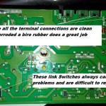 Make sure all the terminal connections are clean and not corroded a biro rubber does a great job