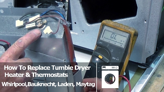 indesit washing machine motor wiring diagram how to test and replace tumble dryer heater  thermostats  how to test and replace tumble dryer heater  thermostats