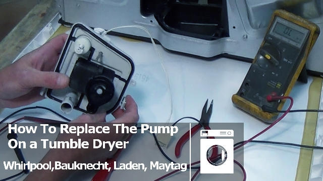How To Replace Or Service A Condenser Tumble Dryer Pump