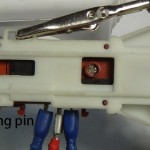 locking pin on a washing machine door lock or interlock