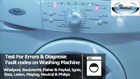 whirlpool washing machine   How to Repair - Part 3