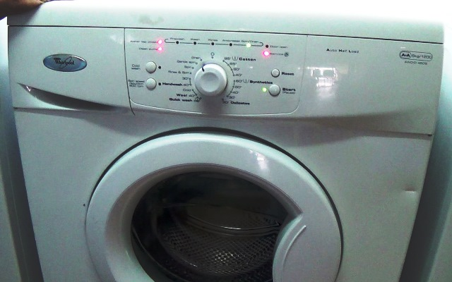 Whirlpool AWO/D & AWD Series Washing Machine Error Fault Codes
