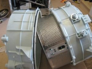 drum that splits with screws