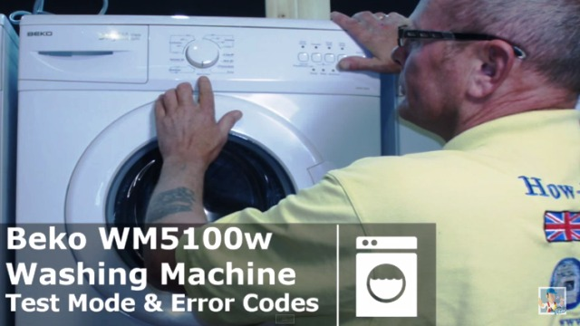 Beko Washing Machine Self Test Amp Diagnostic Mode