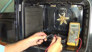creda SC36EB oven how to test element