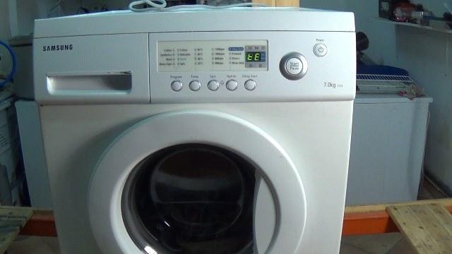 Samsung Washing Machine TE & HE Error Code Heating Fault