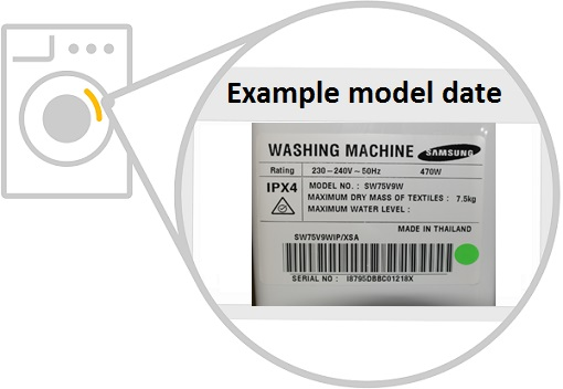 Samsung Washing Machine Fault Codes & Washer Dryer Models