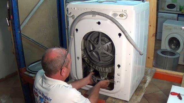 samsung washing machine not spinning