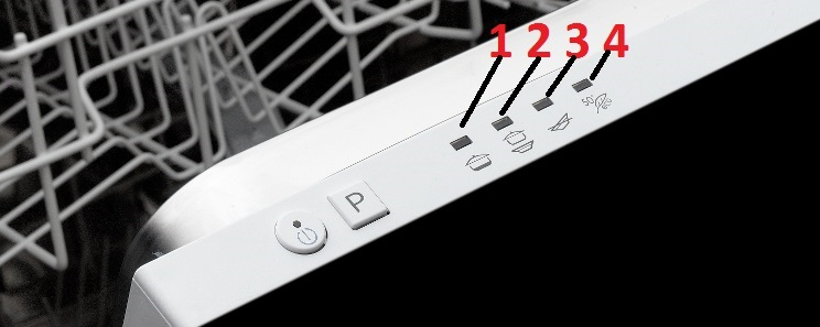 Hotpoint Ariston dishwasher error codes and faults Diagnostic fault ...