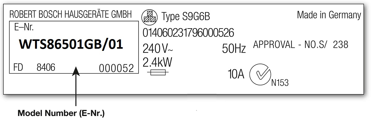How To Find Your Tumble Dryer Model Number
