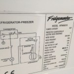 fridge freezer model number Aeg electrolux zanussi