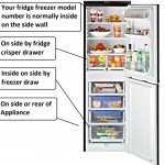fridge freezer model number Balay Bosch Neff Siemens