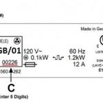 fridge freezer model number whirlpool Balay Bosch Neff Siemens