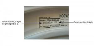 hoover model number