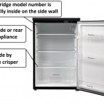 under counter fridge model number Ariston Creda Indesit Hotpoint