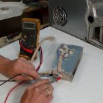 Testing high heat side of heater element