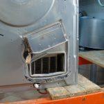 dryer heater location