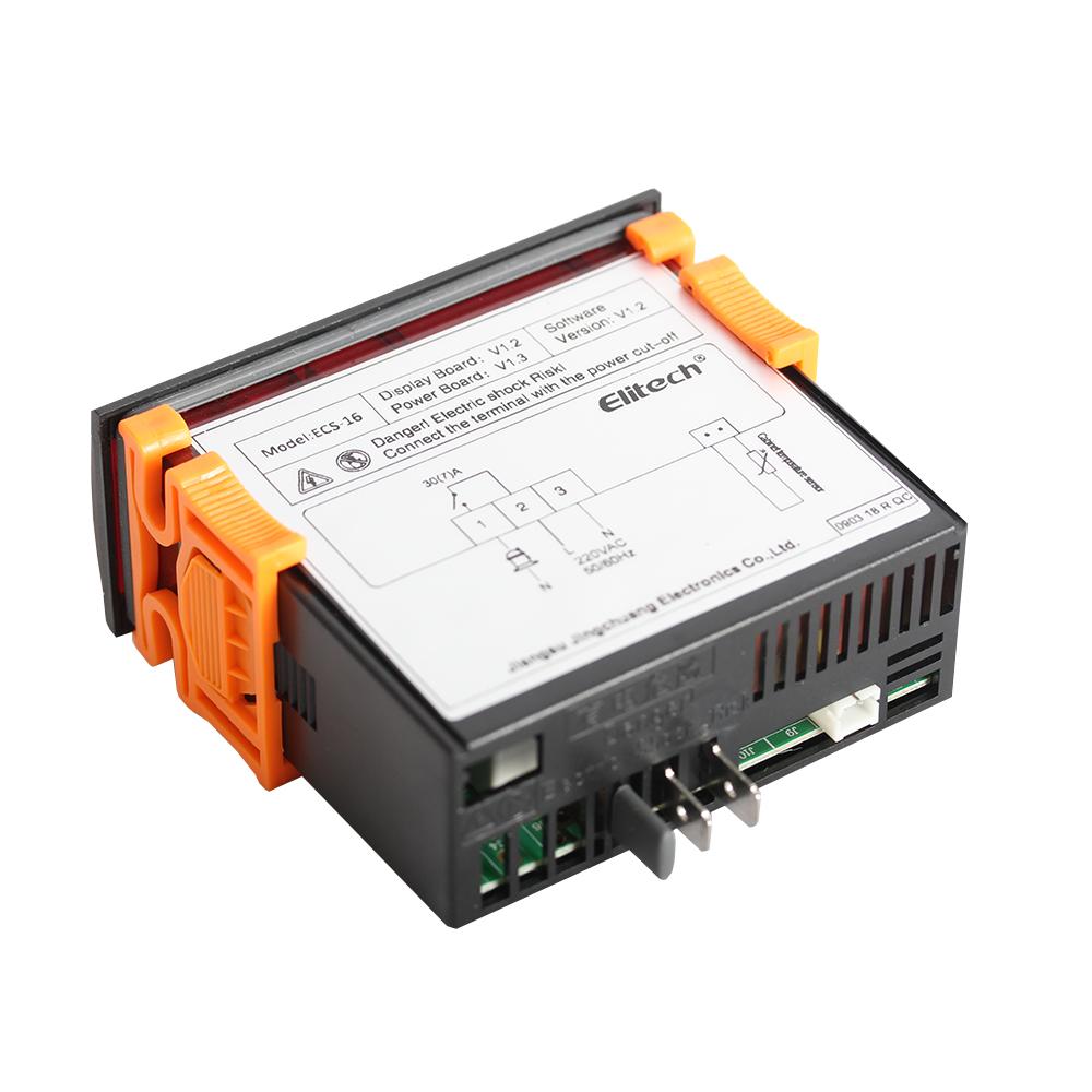Elitech ECS-16 Digatal Temperature Controller wiring