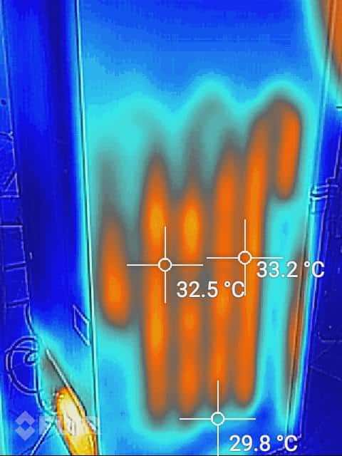 Thermal Imaging Camera To Repair Refrigeration Using
