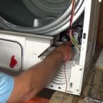 hoover-candy-condenser-tumble-dryer-motor-Capacitor can be changed with out removing drum but i don't recommend it