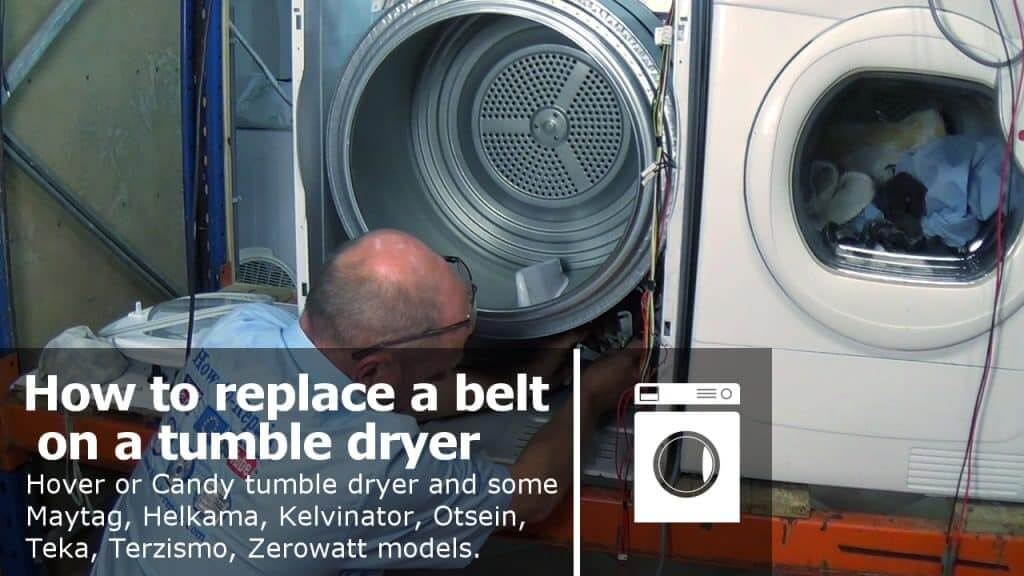 How To Replace A Tumble Dryer Belt Hoover Or Candy