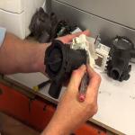 Tab type pump