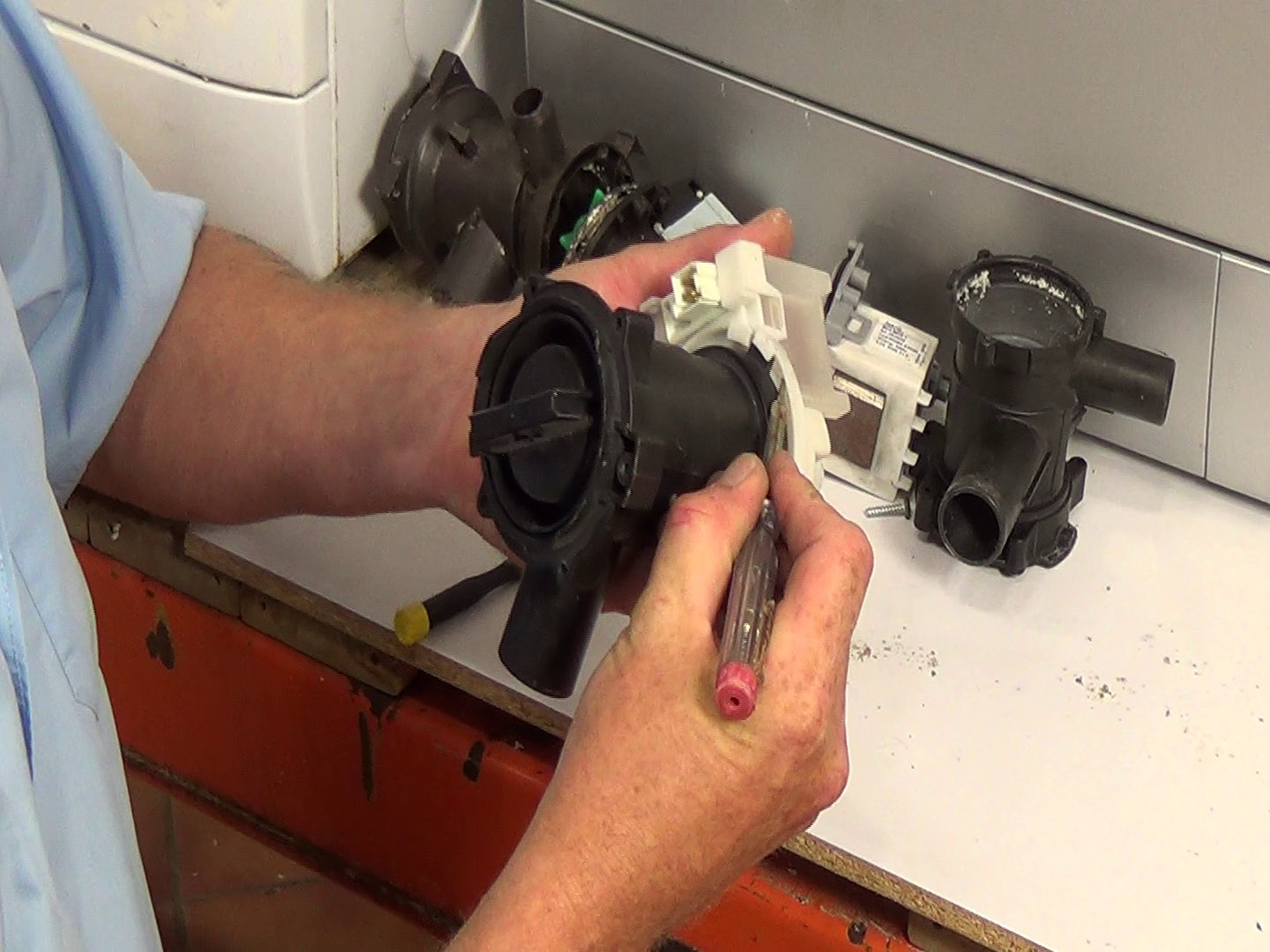 How To Open Washing Machine Pump Filter That Is Stuck Or