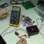 Bench testing printed circuit board Heater relay