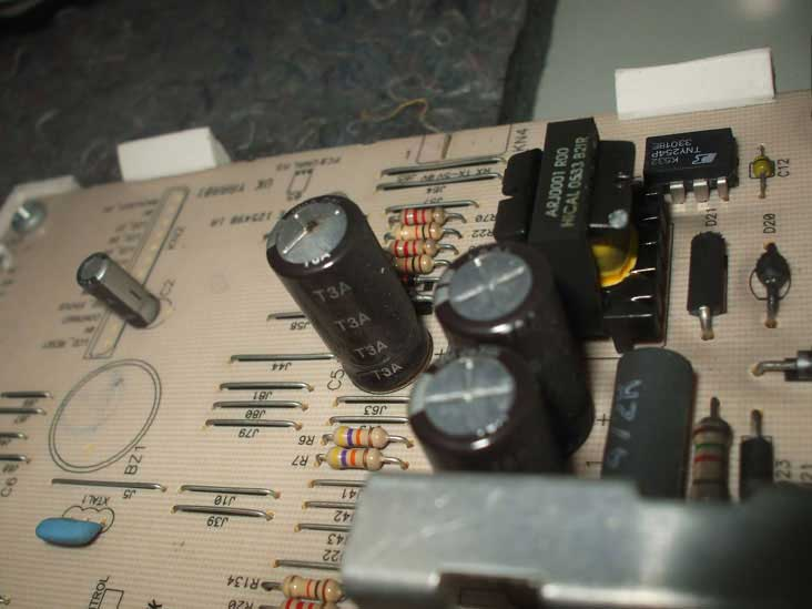 blomberg-washing-machine-with-faulty-capacitor