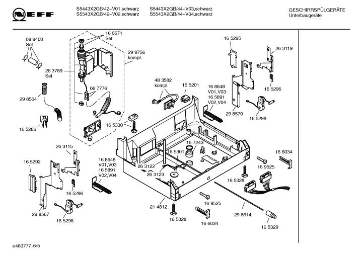 Neff Dishwasher S5443x2 Gb44 05