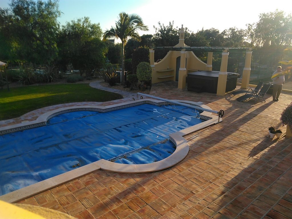 Solar Swimming Pool And Hot Tub In Algarve Portugal