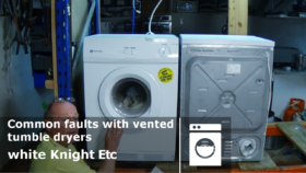 Common faults with vented tumble dryers how to diagnose problems and repair