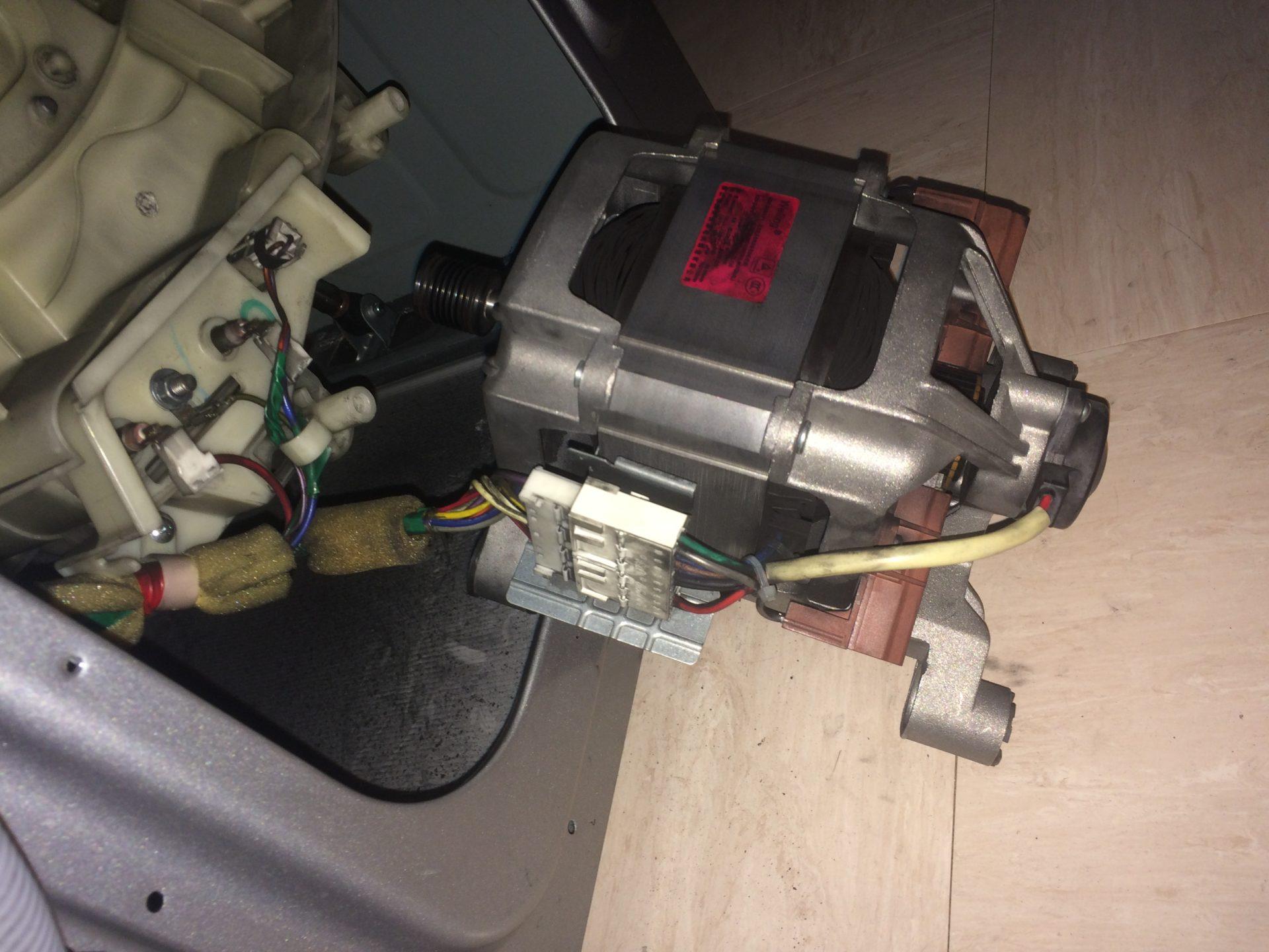 Samsung WF1804WPN washing machine 3E error not spining